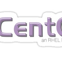 CentOS an RHEL Linux Distro Sticker