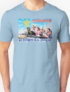 North Korean Propaganda - All Together T-Shirt