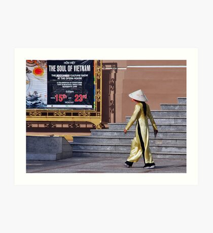 The soul of Vietnam Art Print
