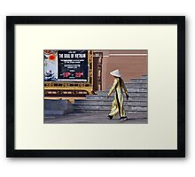 The soul of Vietnam Framed Print
