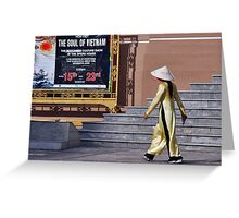 The soul of Vietnam Greeting Card