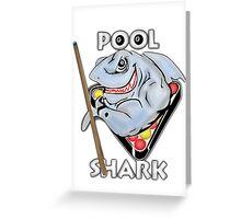 POOL SHARK Greeting Card