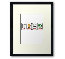 JUST FOR FUN OR STAG OR HEN DO Framed Print