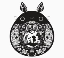 【12500+ views】Totoro by Ruo7in