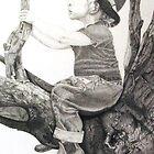 Toddler Contemplation by Cilinda Atkins