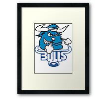 SOUTH AFRICA SEXY SUPER RUGBY BLUE BULLS SUPORTER T SHIRT BRAAI BILTONG Framed Print