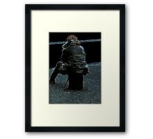 Will I be left behind? Framed Print