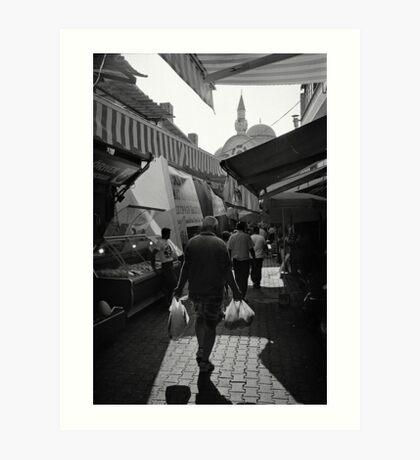 Kemeralti Bazaar in Izmir Art Print