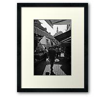 Kemeralti Bazaar in Izmir Framed Print