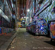 Hosier Lane by Simon Penrose