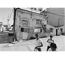 Ege Neighborhood in Izmir, Turkey Photographic Print