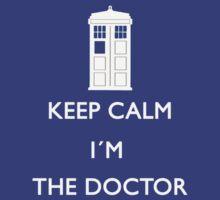 Keep Calm I'm the Doctor Shirt by Ellen Kapelle