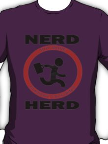 Chuck Nerd Herd T-Shirt