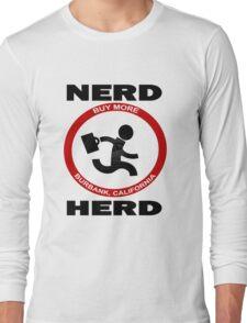 Chuck Nerd Herd Long Sleeve T-Shirt