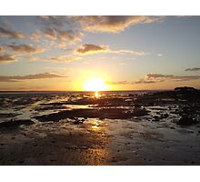 Gatakers Sunset Photographic Print