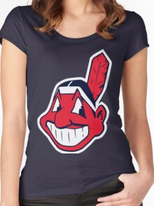 Indians Women's Fitted Scoop T-Shirt