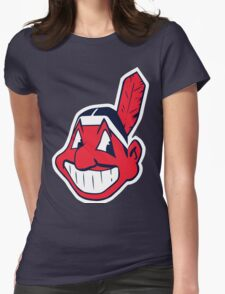 Indians Womens Fitted T-Shirt