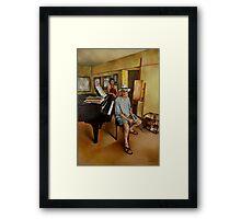 The Studio Framed Print