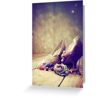 Tea Dance (Seduction series) Greeting Card