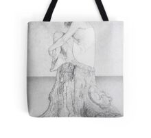 Teenage Contemplation Tote Bag