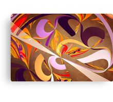 Fractal - Abstract - Space Time Canvas Print