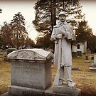 Civil War Soldier By Grave by Jane Neill-Hancock