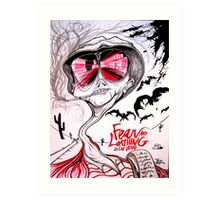 Fear and Loathing in Las Vegas Art Print