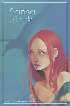 Sansa - Girls in Westeros by MartinaC