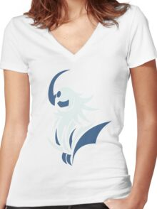 Path of Destruction - Absol Women's Fitted V-Neck T-Shirt