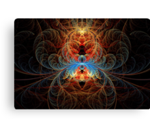 Fractal - Insect - Black Widow Canvas Print