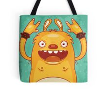 Punk Rock Monster Tote Bag