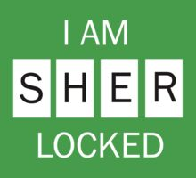 I am Sherlocked Shirt One Piece - Short Sleeve