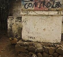 neighborhood graffiti- Ahuachapan, El Salvador by David Chesluk