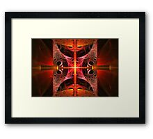 Fractal - Science - Cold Fusion Framed Print