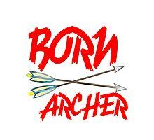 BORN ARCHERS Photographic Print