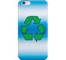 Iphone case - Recycle - Blue iPhone Case/Skin