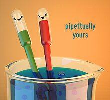 Pipettually Yours - Cute Chemistry by chayground