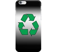 Iphone case - Recycle - black iPhone Case/Skin