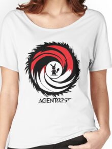 Agent 025 - 'The name's Pika, Pikachu.' Women's Relaxed Fit T-Shirt