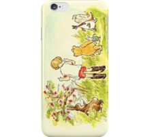 the whole gang; winnie the pooh iPhone Case/Skin