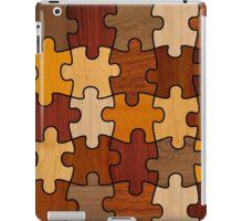 Puzzle Wood V2.0 iPad Case/Skin