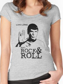 Rock Spock Women's Fitted Scoop T-Shirt