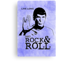 Rock Spock Canvas Print