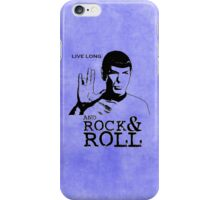 Rock Spock iPhone Case/Skin