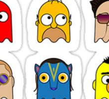 Pac People Sticker