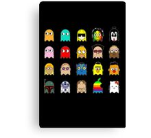 Pac People Canvas Print