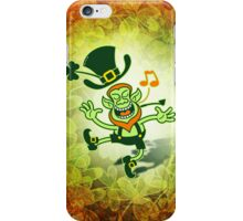 Irish Leprechaun Dancing and Singing iPhone Case/Skin