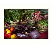 Food - Vegetables - Very fresh produce  Art Print