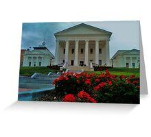 Richmond, VA., State Capitol  Greeting Card