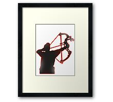 COMPOUND ARCHER Framed Print